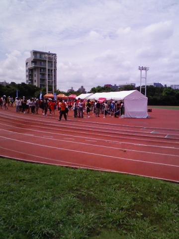 Nike+HUMAN RACE in 代々木公園 乾燥しますた(汗)