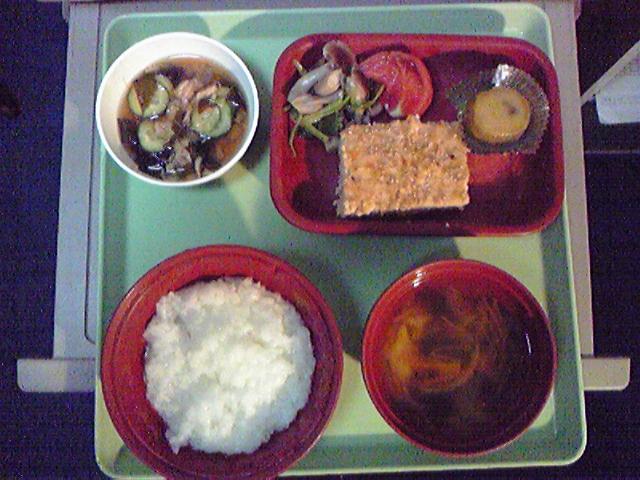 入院4日目の食事レポート