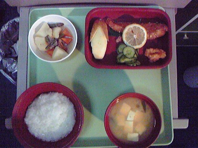 入院五日目の食事