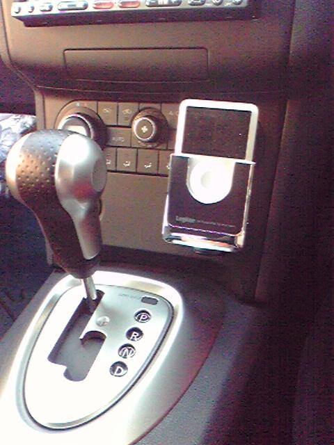 ロジテック NANO G3専用車載用FMトランスミッター LAT-FMN03GBK
