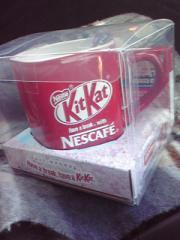 KitKat合格(五角形)マグカップ